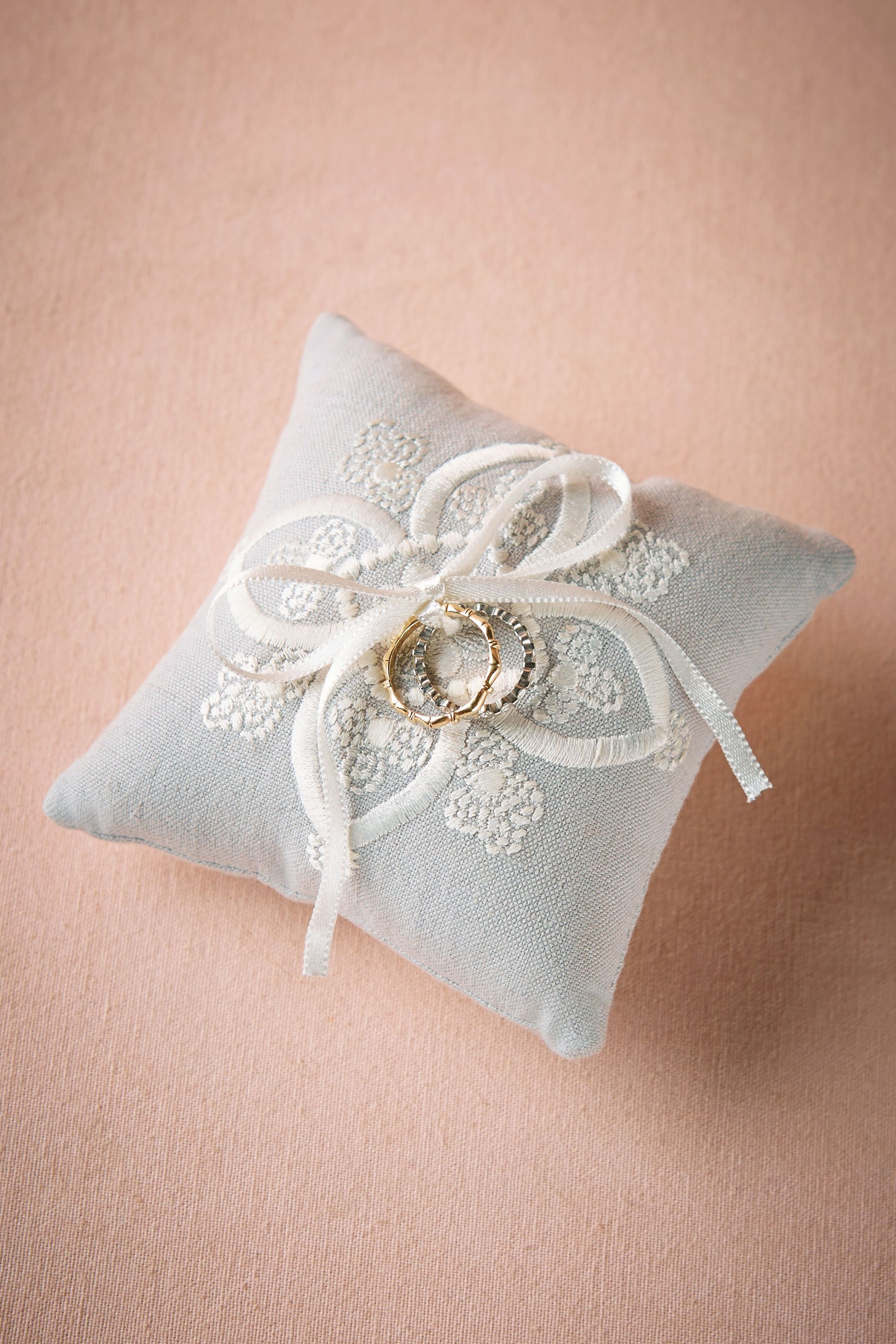 wedding with madeheart handmade accessories dsc fabric ring beads product and en bows golden pillow decorative