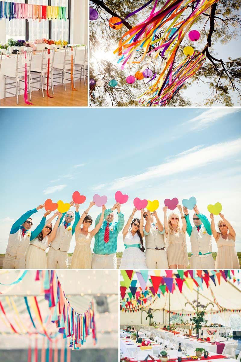 Colourful wedding ideas httpyesbabydailyblogfull wedding decor ideas bright and colourful junglespirit Images