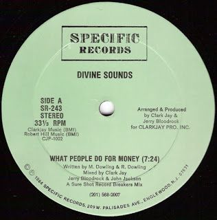 """seratofreak: Divine sounds-What people do for money 12"""" rip"""