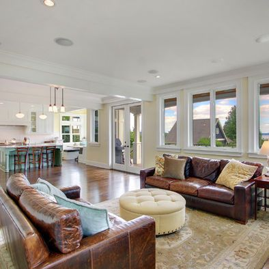 Houzz Leather Sofa Living Room Contemporary Design Com Brown Pictures Remodel Decor And Ideas
