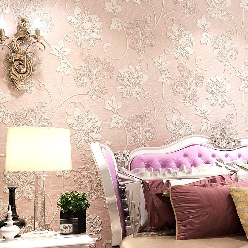 Pastoral Rustic Wall Papers Home Decor 3d Embossed Floral Wallpaper Home Decor Living Decor Living Room Decor