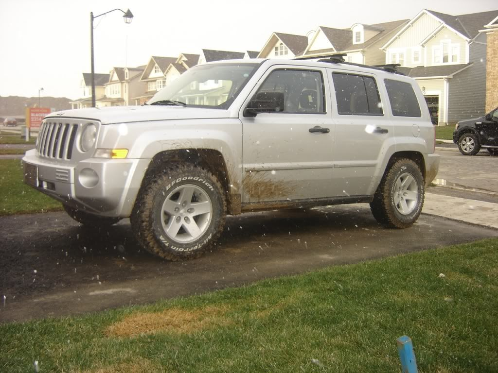 Ok Whos A Member Of The Lifted Mk Club Page 9 Jeep Patriot Forums 245 70 16 Rubicon Wheels Rr Lift Jeep Patriot Lifted Jeep Offroad Jeep