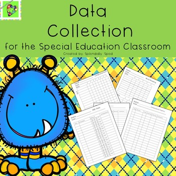 Collecting data plays a huge roll in teaching students with special needs.   It is non-negotiable, you must do it!  Why not make it fun at the same time. These cute monsters make collecting all that data fun and your students will love them as well.  Dividers for: Reading, Math, Science, Social Studies, Communication, Life Skills, and BehaviorData Sheets : Word Reading and ComprehensionMath Computation FluencyGeneric Skills Data SheetsBehavior Duration and FrequencyABC Data SheetABC Data…