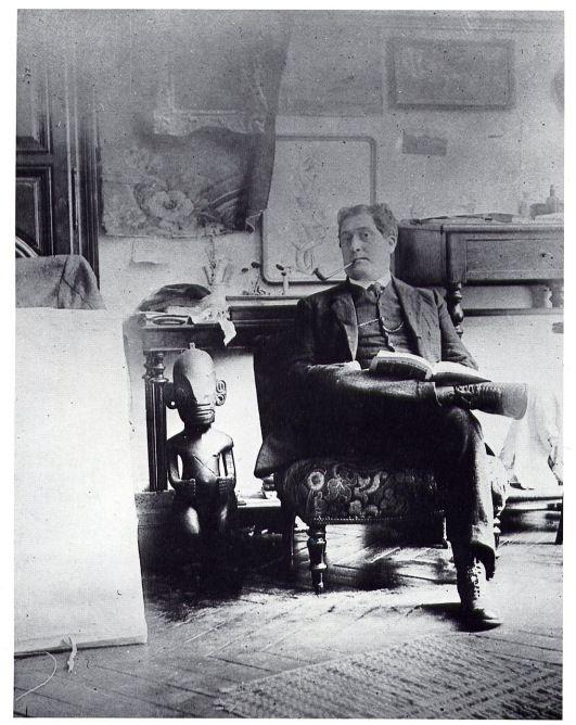 Guillaume Apollinaire Dans Le Studio De Picasso Boulevard De Clichy Paris 1910 1912 Pablo Picasso Picasso Artist