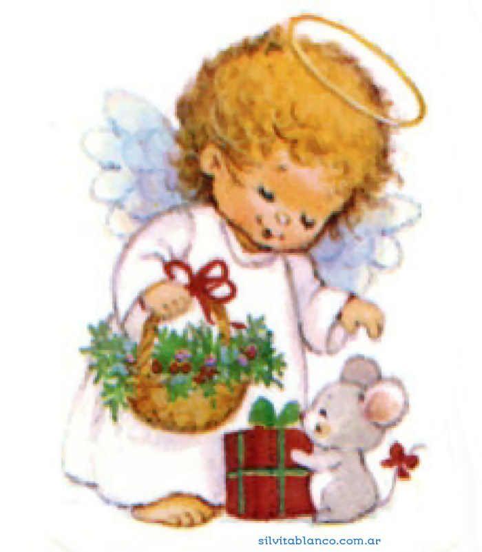 Imagenes De Angelitos Navidenos.Angelitos De Navidad Morehead Material De Uso Escolar