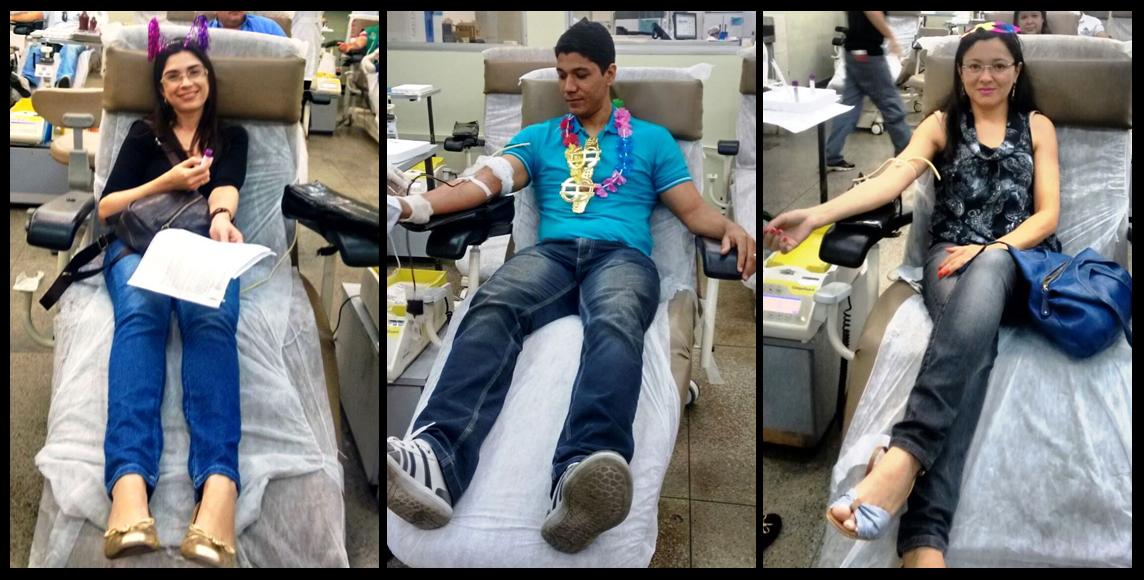 27/01/2016- doação de sangue