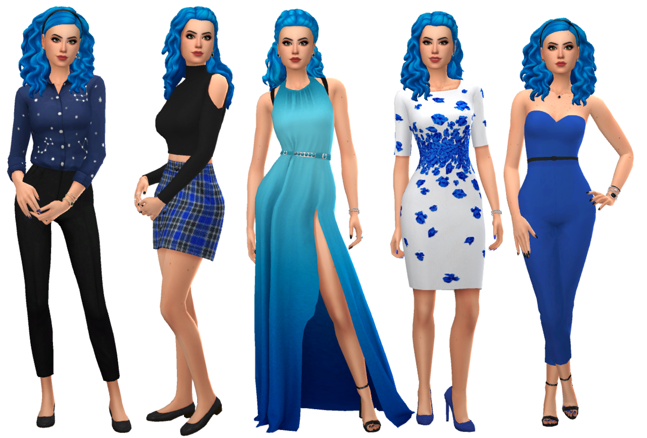 Not So Berry Generation 10 Blue Lookbook This Lookbook Is Focused On The Tenth Generation Blue Sim From The Not So Be Sims 4 Dresses Sims 4 Clothing Sims 4 I've heard that the freelancer career often doesn't work. sims 4 dresses sims 4 clothing sims 4