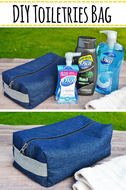 Diy Toiletries Bag You Can Make In 9 Steps Diy Toiletries Toiletry Bag Diy Toiletry Bag
