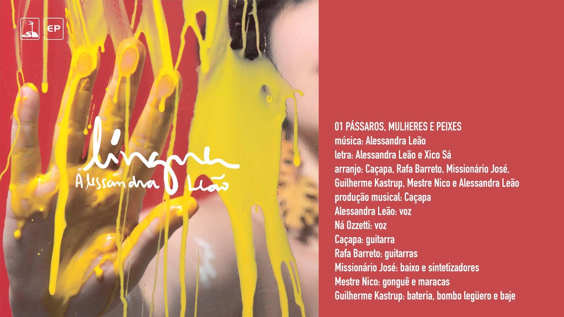 """Alessandra Leão """"Pássaros, Mulheres e Peixes"""""""