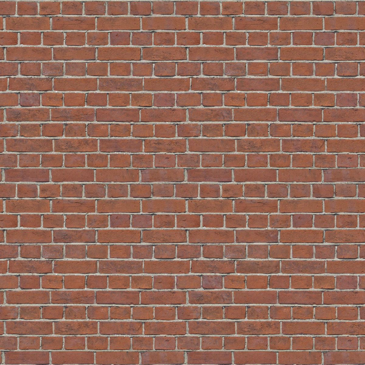 Tileable Red Brick Wall Texture 1200x1200 WallsSeamless TexturesWall
