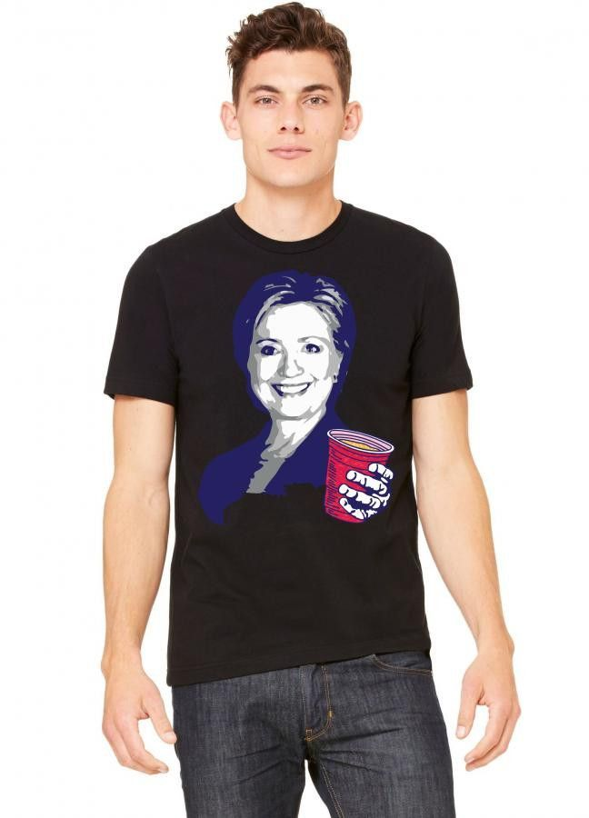 Hillary Clinton Celebrating 4th Of July Tshirt