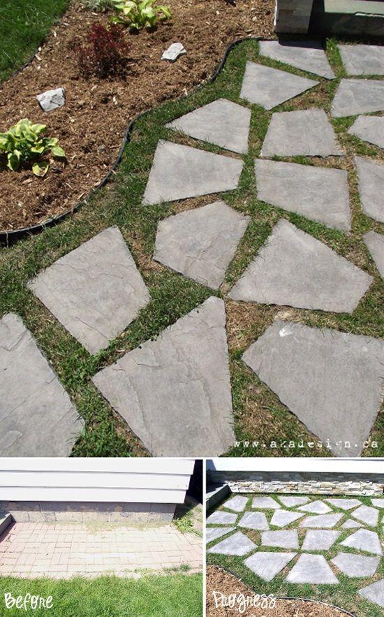 10 design ideas for amazing diy garden pathways flagstone walkway