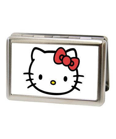 This hello kitty business card holder by hello kitty is perfect this hello kitty business card holder by hello kitty is perfect zulilyfinds reheart Images