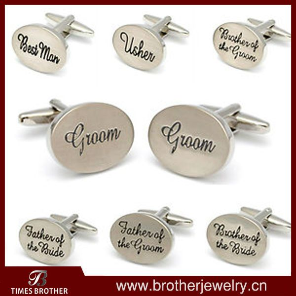 Novelty Wedding Cufflinks Set $1~$10