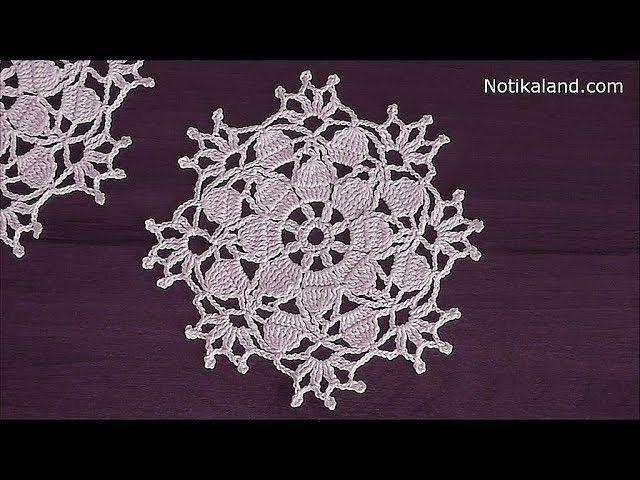 Crochet Snowflake Pattern Crochet Doily Christmas Crochet Snowflake