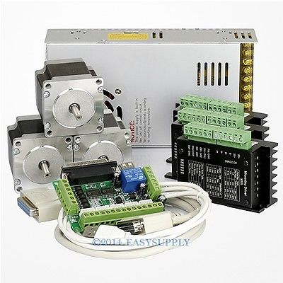 Top selling Nema23 stepper motor 425oz-in CNC mill,Laser Engravers 3axis kit
