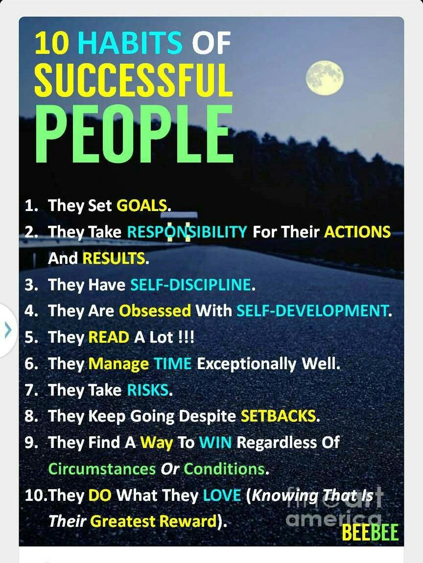 words to describe successful people
