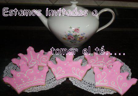 Estamos invitadas a tomar el te :)