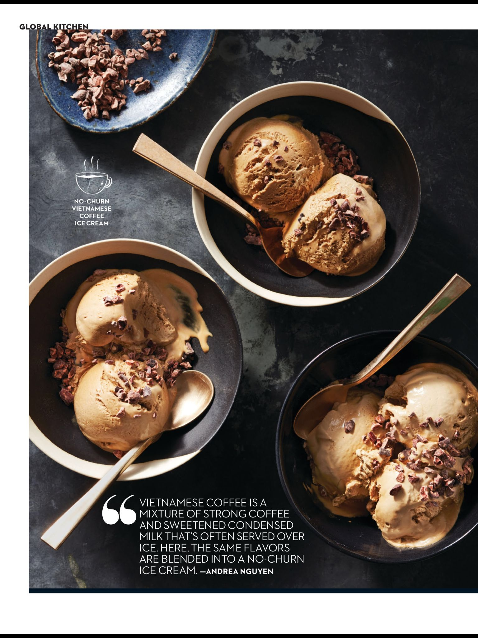 Easy Vietnamese From Rachael Ray Every Day March 2019 Read It On The Texture App Unlimited Acces Vietnamese Coffee Ice Cream Coffee Ice Cream Cream Recipes