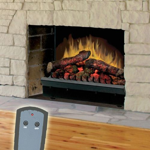 23 Deluxe Electric Fireplace Insert By Dimplex Dfi2310 Electric