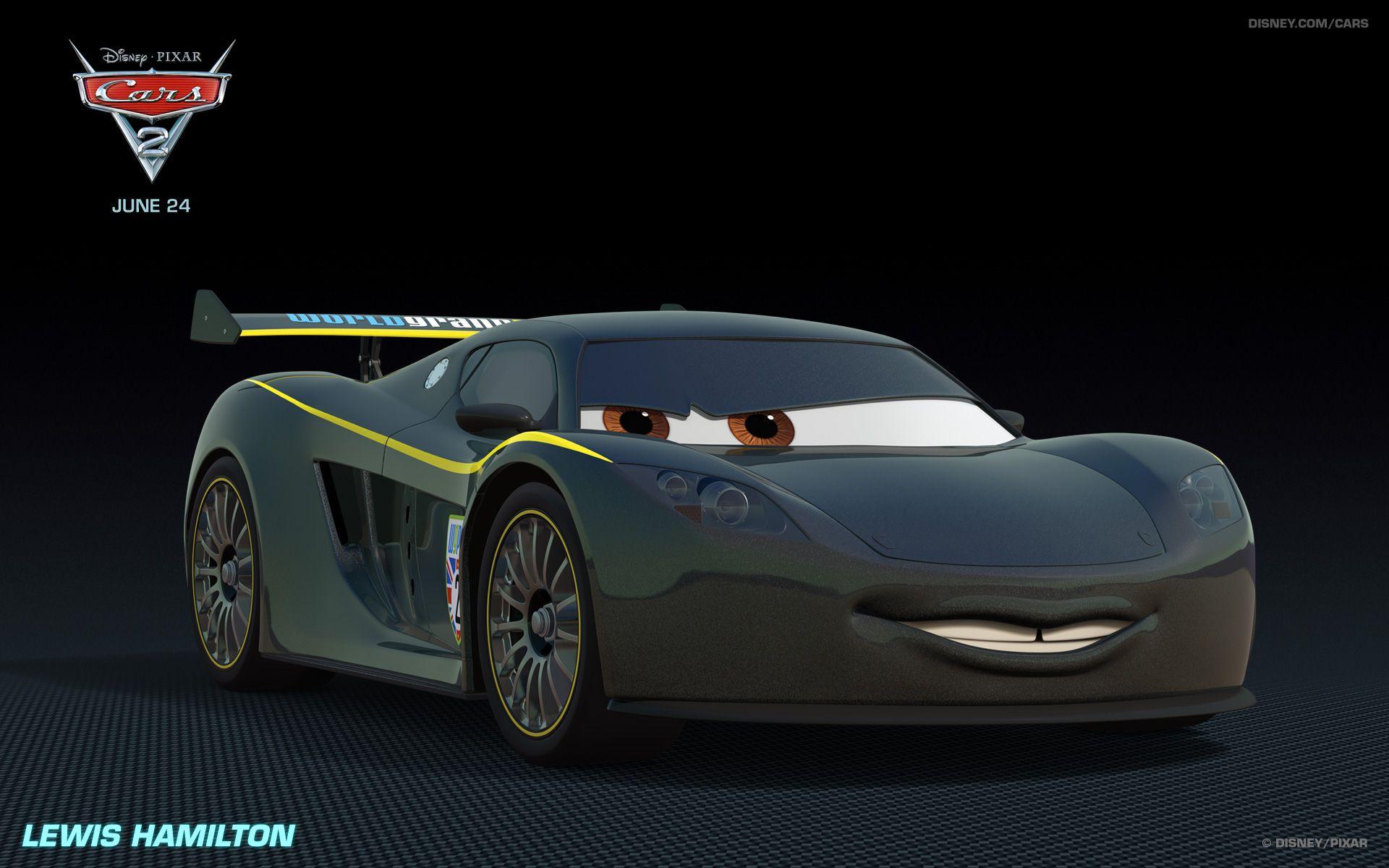 Lewis Hamilton Cars Characters Cars Movie Disney Cars