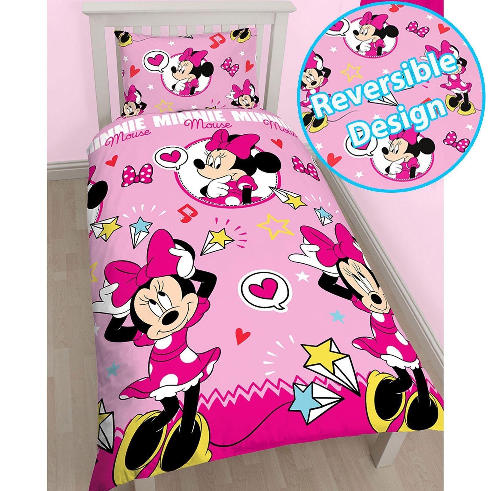 Minnie Mouse Kinder Bettwäsche Bettwäsche kinder, Rosa