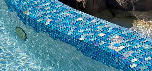 pin on swimming pool glass tile by