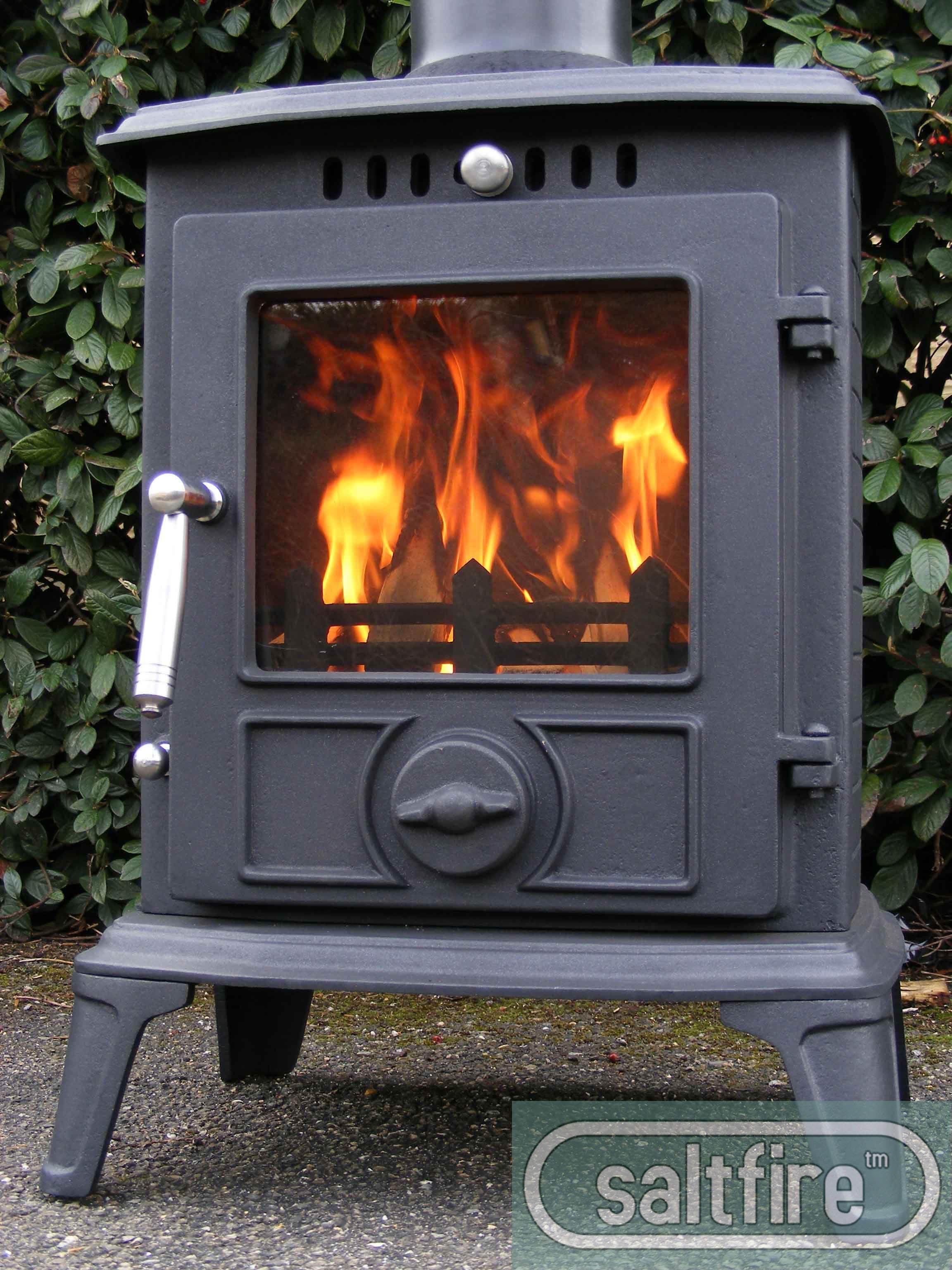 Hannover 5kw Multifuel Stove Medium Stoves Woodburning Log Burners Cast Iron Wood Chimney Flue
