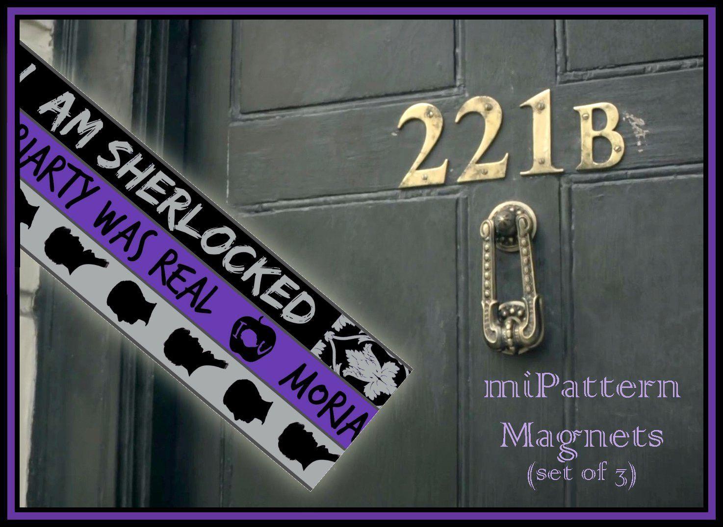 Magnetic Pattern Chart Keeper Preorder 221b Baker Street