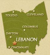 Lebanon Ohio 45036 Warren County City Seat Map From City Of