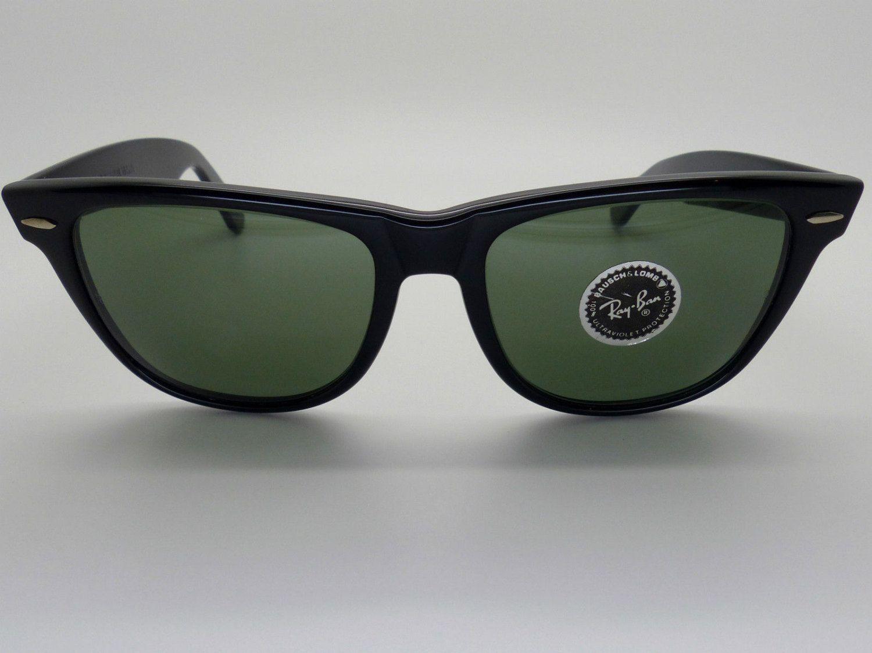classic 1980s ray ban wayfarer ii vintage sunglasses