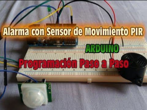 Alarma con sensor de movimiento pir arduino - Sensores de movimiento con alarma ...