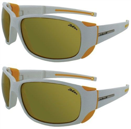 78ea619a34 Julbo Montebianco Mountain Sunglasses (White Yellow