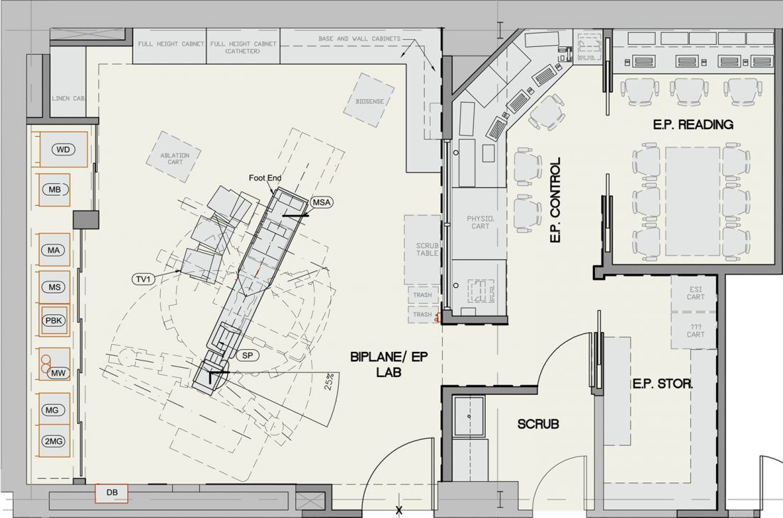 Image result for cardiac catheterization lab layout - Hospital planning and designing books pdf ...