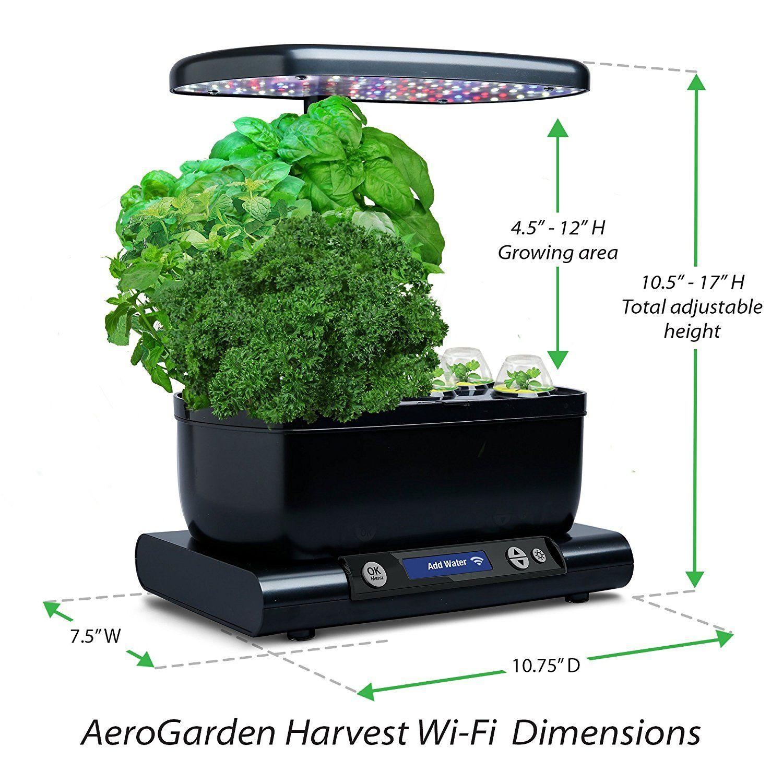Aerogarden Harvest Wifi: Herb Seeds, Herbs, Home Garden
