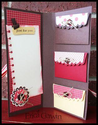 multiple gift card holder cards pinterest envelopes cards and
