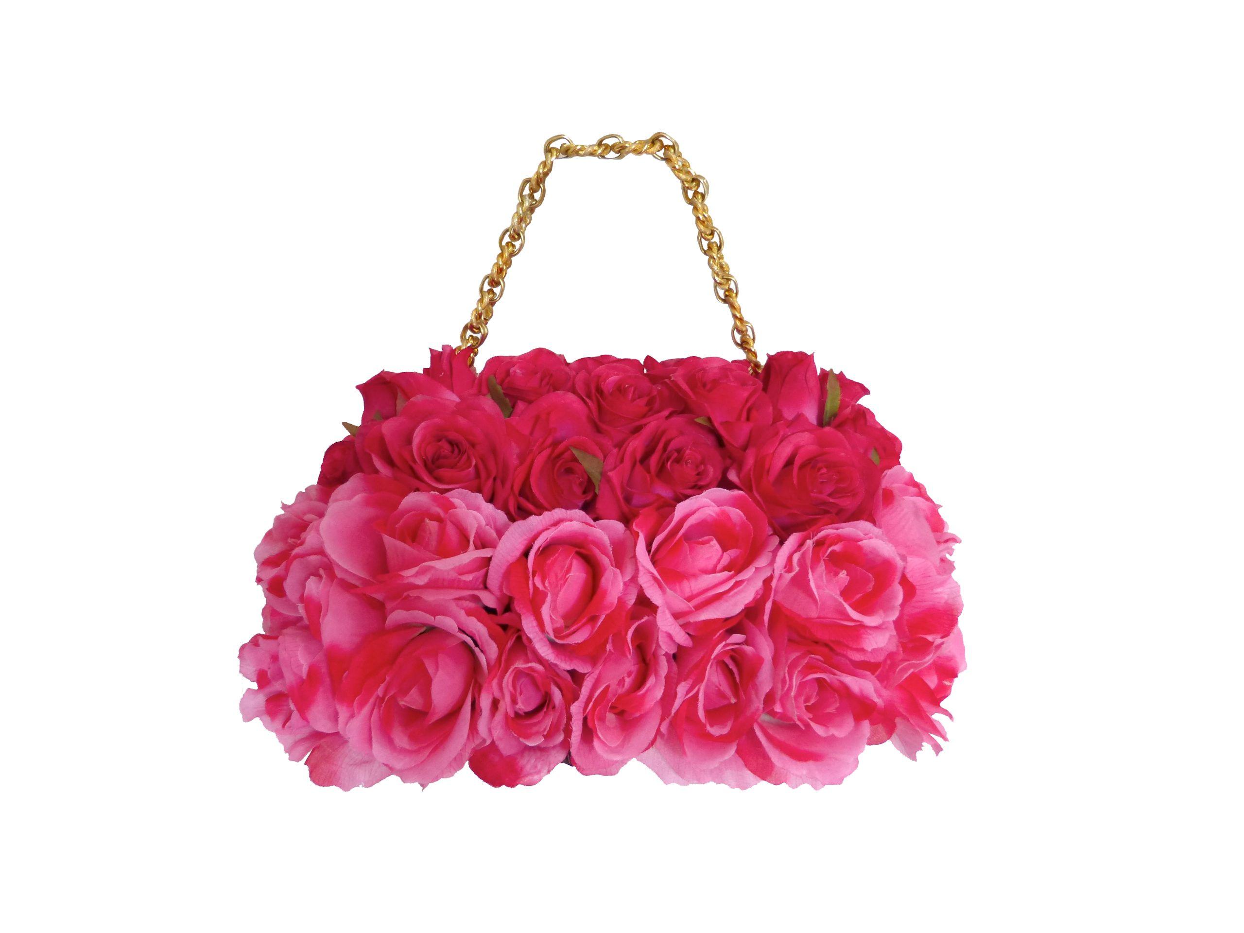 BETTINA SPITZ Cartera de rosas