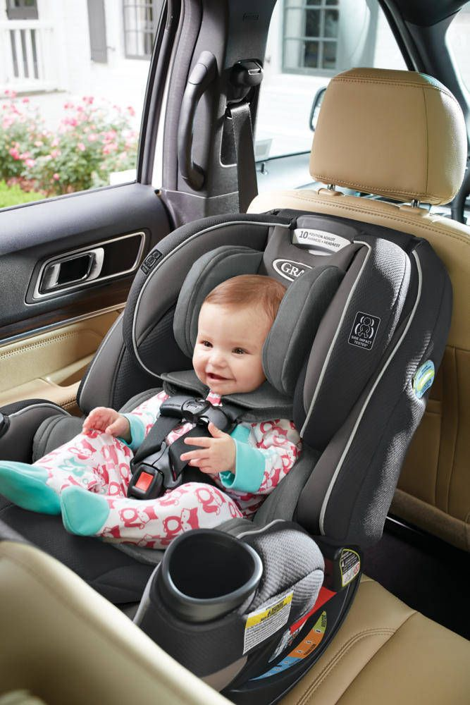 The Graco 4ever Extend2fit 4 In 1 Car Seat Is Designed To Provide