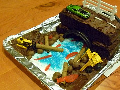 Cake Design For Civil Engineer : Edible culvert cake! What a creative gift idea for civil ...