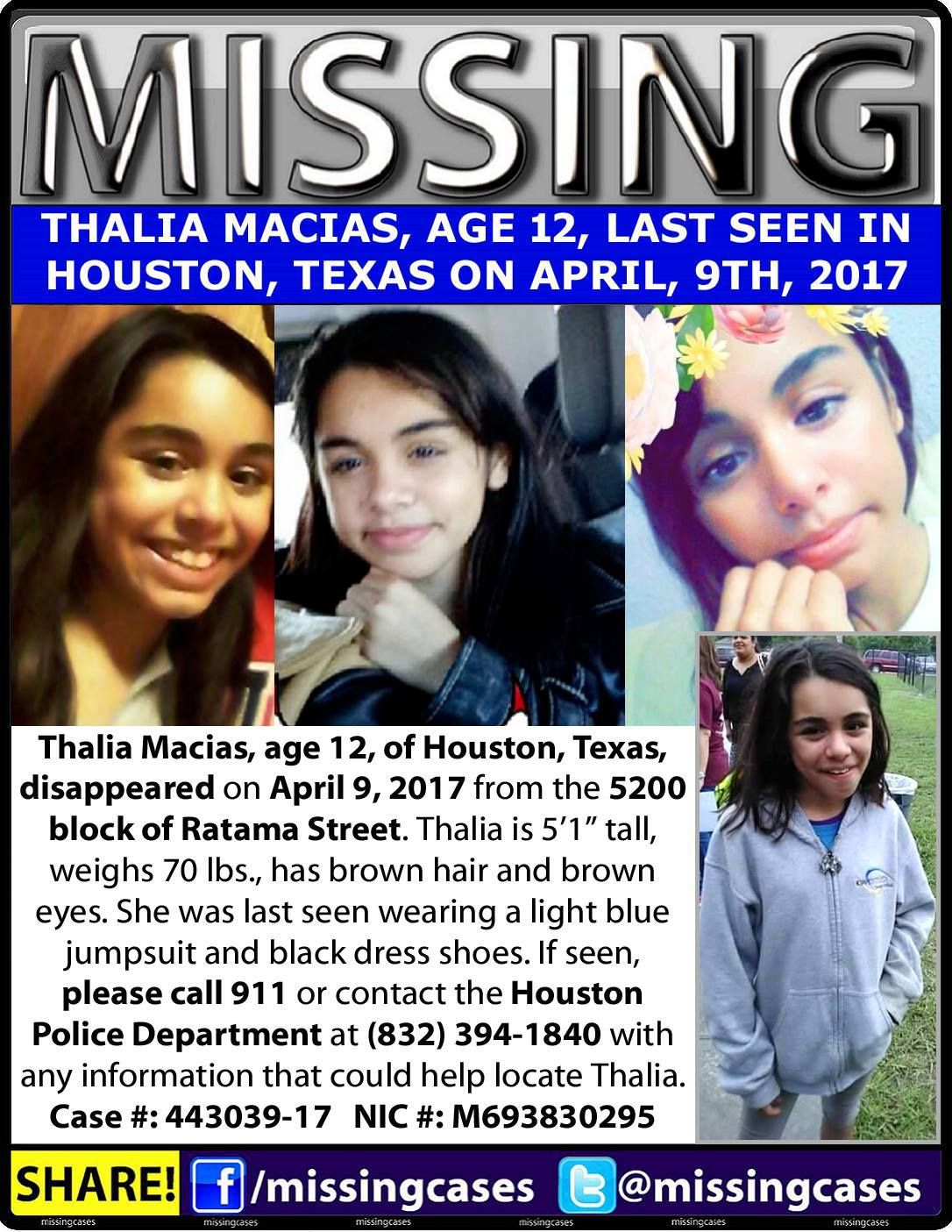 Find Missing Thalia Macias!