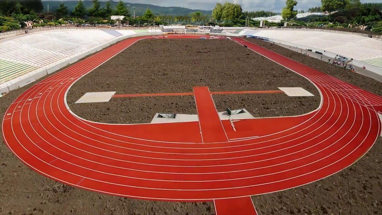 Construccion De Pistas De Atletismo Con Atlethica Tu Proyecto Es Posible Para La Construccion De Pistas De A Pistas De Atletismo Atletismo Pista De Atletismo