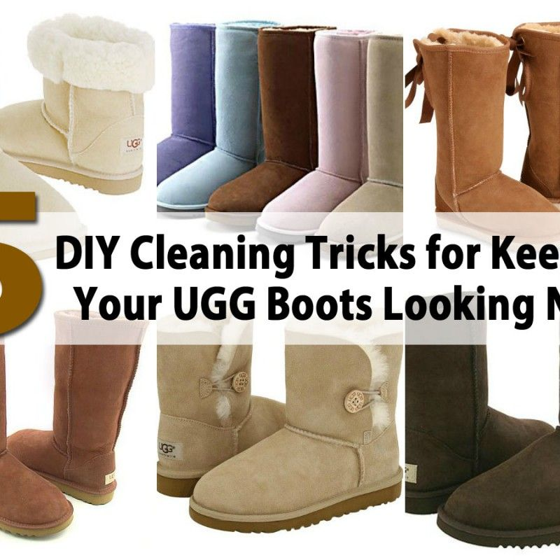 bb190711b8 8 DIY Cleaning Tricks for Keeping Your UGG Boots Looking New ...