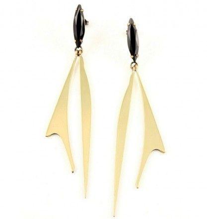 Iosselliani's pendant earrings - Covet Chic