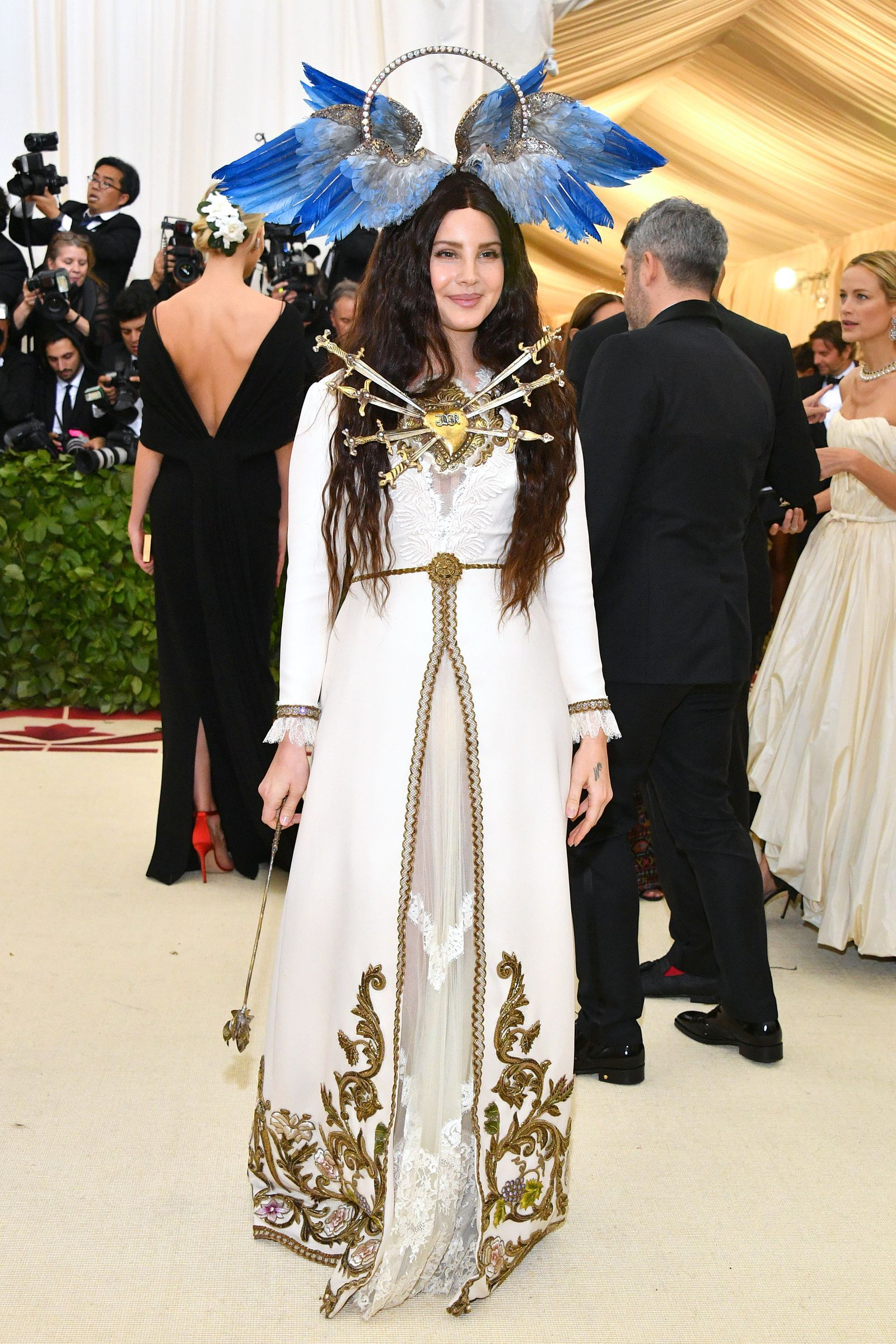 ba6ebb35dd2 Jared Leto Goes Full Jesus at the Met Gala With Lana Del Rey -  Cosmopolitan.com