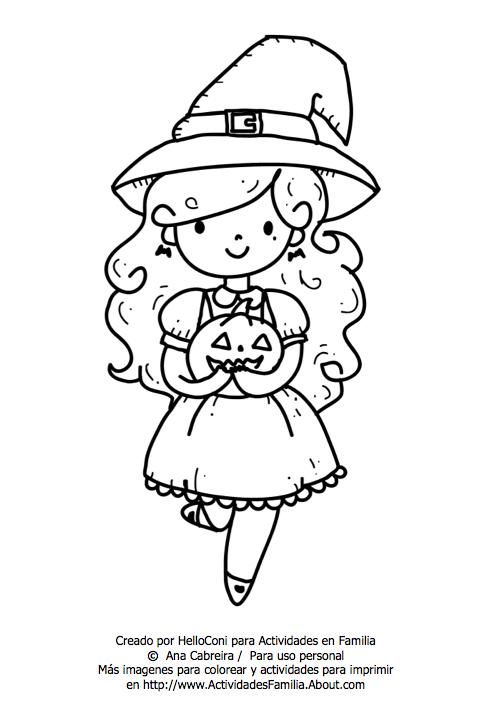 10 Dibujos de Halloween para imprimir y colorear | Manualidades para ...