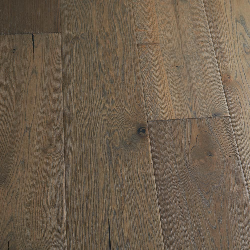 Malibu Wide Plank French Oak Daytona 1 2 In T X 7 5 In W X Varying Length Engineered Click Hardwood Flooring 23 44 Sq Ft Case Hdmccl143ef The Home Depot In 2020 Engineered Hardwood