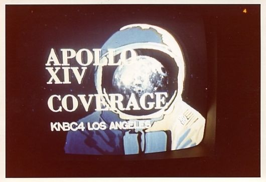What Was On (In Space) Photographs of space missions on TV