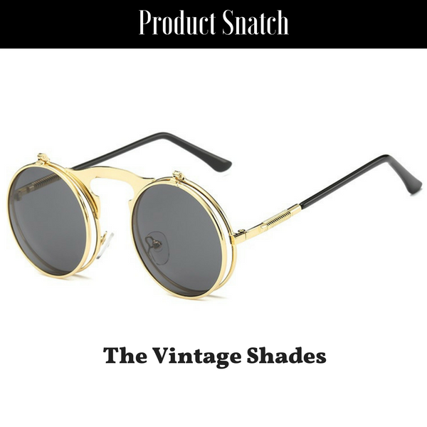 d4e72b1ba93 ... Sunglasses by Product Snatch. The Vintage Flip Shades