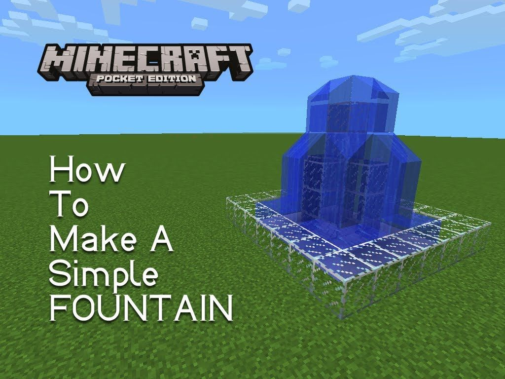 how to make a train in minecraft pocket edition