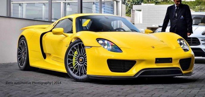 Porsche 918 spyder colors